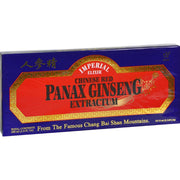 Imperial Elixir Chinese Red Panax Ginseng Extractum - 10 Bottles - 10 Ml Each - Kkdu Market
