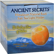 Ancient Secrets Himalayan Natural Rock Salt Tea Light Holder - Medium - 1 Holder - Kkdu Market