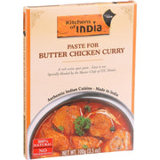 Kitchen Of India Paste - Butter Chicken Curry - 3.5 Oz - Pack Of 6 - Kkdu Market