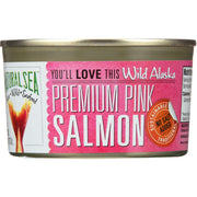 Natural Sea Wild Pink Salmon - Unsalted - 7.5 Oz. - Kkdu Market