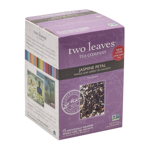 Two Leaves And A Bud Green Tea - Jasmine Petal - Pack Of 6 - 15 Bags - Kkdu Market
