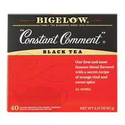 Bigelow Tea Tea - Constant Comment - Pack Of 6 - 40 Bag - Kkdu Market