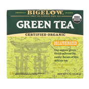 Bigelow Tea Organic Green Tea - Decaf - Pack Of 6 - 40 Bag - Kkdu Market