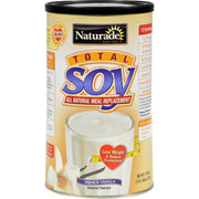 Naturade Total Soy Meal Replacement French Vanilla - 18 Oz - Kkdu Market