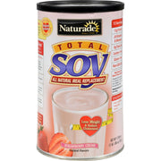 Naturade Total Soy Meal Replacement Strawberry Creme - 17.88 Oz - Kkdu Market
