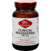 Olympian Labs Clinical Resveratrol - Extra Strength - 30 Vcaps - Kkdu Market