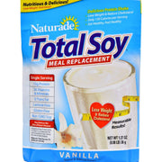 Naturade Total Soy Vanilla Packet - Pack Of 25 - 1.27 Oz - Kkdu Market