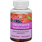 Nutrition Now Women's Gummy Vitamins Mixed Berry - 70 Gummies - Kkdu Market