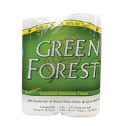 Green Forest Premium Bathroom Tissue - Unscented 2 Ply - Pack Of 12 - Kkdu Market