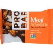 Probar Organic Chocolate Coconut Bar - Pack Of 12 - 3 Oz - Kkdu Market