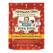 Newman's Own Organics Snacks Sticks - Chicken And Potato - Pack Of 12 - 4 Oz. - Kkdu Market