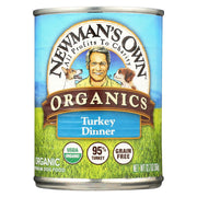 Newman's Own Organics Turkey Grain Free Dinner - Organic - Pack Of 12 - 12.7 Oz. - Kkdu Market