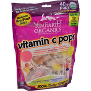 Yummy Earth Organic Vitamin C Lollipops- Over 40 Pops - Kkdu Market