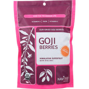 Navitas Naturals Goji Berries - Organic - Sun-dried - 16 Oz - Pack Of 6 - Kkdu Market