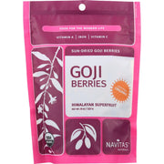 Navitas Naturals Goji Berries - Organic - Sun-dried - 8 Oz - Pack Of 12 - Kkdu Market