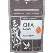 Navitas Naturals Chia Seeds - Organic - Raw - 16 Oz - Pack Of 6 - Kkdu Market