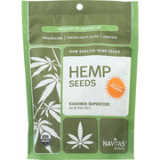 Navitas Naturals Hemp Seeds - Organic - Shelled - 8 Oz - Pack Of 12 - Kkdu Market