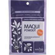 Navitas Naturals Maqui Powder - Organic - Freeze-dried - 3 Oz - Pack Of 6 - Kkdu Market