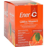 Ener-c Vitamin Drink Mix - Tangerine Grapefruit - 1000 Mg - 30 Packets - Kkdu Market