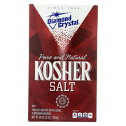 Diamond Crystal - Kosher Salt Box - Case Of 12 - 3 Lbs.