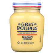 Grey Poupon Mustard Dijon - Pack Of 12 - 8 Oz - Kkdu Market
