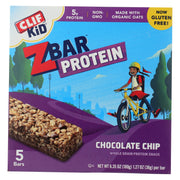 Clif Kid Zbar Organic Kid Zbar Protein - Chocolate Chip - Pack Of 6 - 1.27 Oz. - Kkdu Market