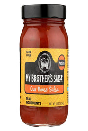 My Brother's Salsa Salsa - House - Medium - Pack Of 6 - 16 Oz - Kkdu Market
