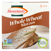Manischewitz Whole Wheat Matzo - 10 Oz.