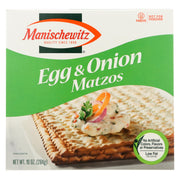 Manischewitz Egg And Onion Matzo - 10 Oz.