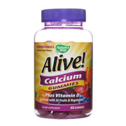 Nature's Way Alive - Calcium - Gummy - 60 Count - Kkdu Market