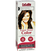 Love Your Color Hair Color - Cosamo - Non Permanent - Med Ash Brown - 1 Ct - Kkdu Market
