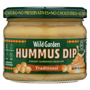 Wild Garden Hummus - Traditional - Pack Of 6 - 10.74 Oz - Kkdu Market