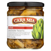 Caramia - Artichoke Hearts - Grilled - Case Of 12 -14.45 Oz.
