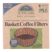 If You Care Coffee Filters - Basket - Pack Of 12 - 100 Count - Kkdu Market