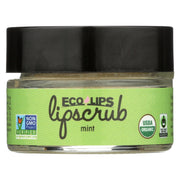Ecolips Organic Lip Scrub - Mint - Pack Of 6 - 0.5 Oz. - Kkdu Market