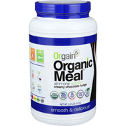 Orgain Organic Meal Powder - Creamy Chocolate Fudge - 2.01 Lb - Kkdu Market