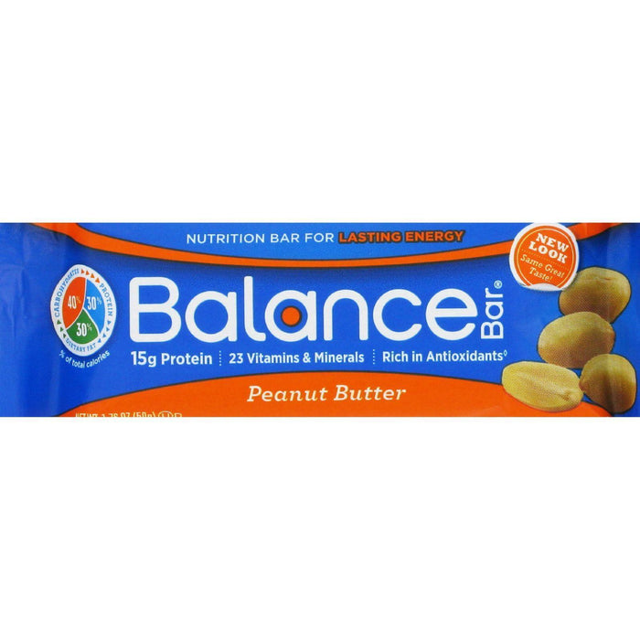 Balance Bar - Peanut Butter - 1.76 Oz - Pack Of 6 - Kkdu Market