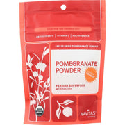 Navitas Naturals Pomegranate Powder - Organic - Freeze-dried - 4 Oz - Pack Of 12 - Kkdu Market