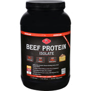 Olympian Labs Beef Protein Isolate - Chocolate - 2 Lb - Kkdu Market