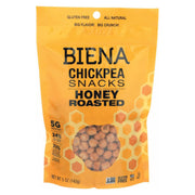 Biena Chickpea Snacks - Honey Roasted - Pack Of 8 - 5 Oz. - Kkdu Market