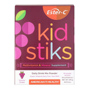 American Health Ester-c - Kid Stiks - Groovy Grape - 30 Packets - Kkdu Market
