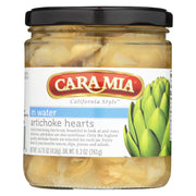 Caramia - Artichoke Hearts - In Water - Case Of 12 - 14.75 Oz.