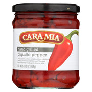 Caramia - Peppers - Grilled Piquillo - Case Of 12 - 14.75 Oz.