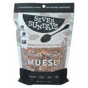 Seven Sundays Muesli - Cocoa Coconut - Pack Of 6 - 12 Oz. - Kkdu Market