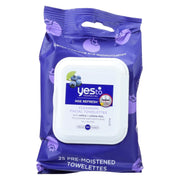 Yes To Towelettes - Face - Cleansing - Blueberries - Pack Of 3 - 30 Count - Kkdu Market