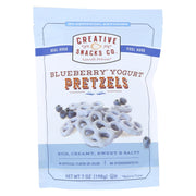 Creative Snacks - Pretzels - Blueberry Yogurt - Case Of 12 - 7 Oz.