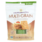Crunchmaster Multi-grain Crackers - Roasted Vegetable - 4.5 Oz