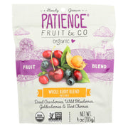 Patience Fruit And Co - Whole Berry Blend Mixed Berries - Pack Of 8 - 4 Oz - Kkdu Market