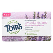 Tom's Of Maine Beauty Bar Soap - Lavender Tea Tree - Pack Of 6 - 5 Oz - Kkdu Market