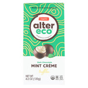Alter Eco Americas Dark Chocolate Truffles - Mint Creme - Case Of 8 - 4.2 Oz. - Kkdu Market